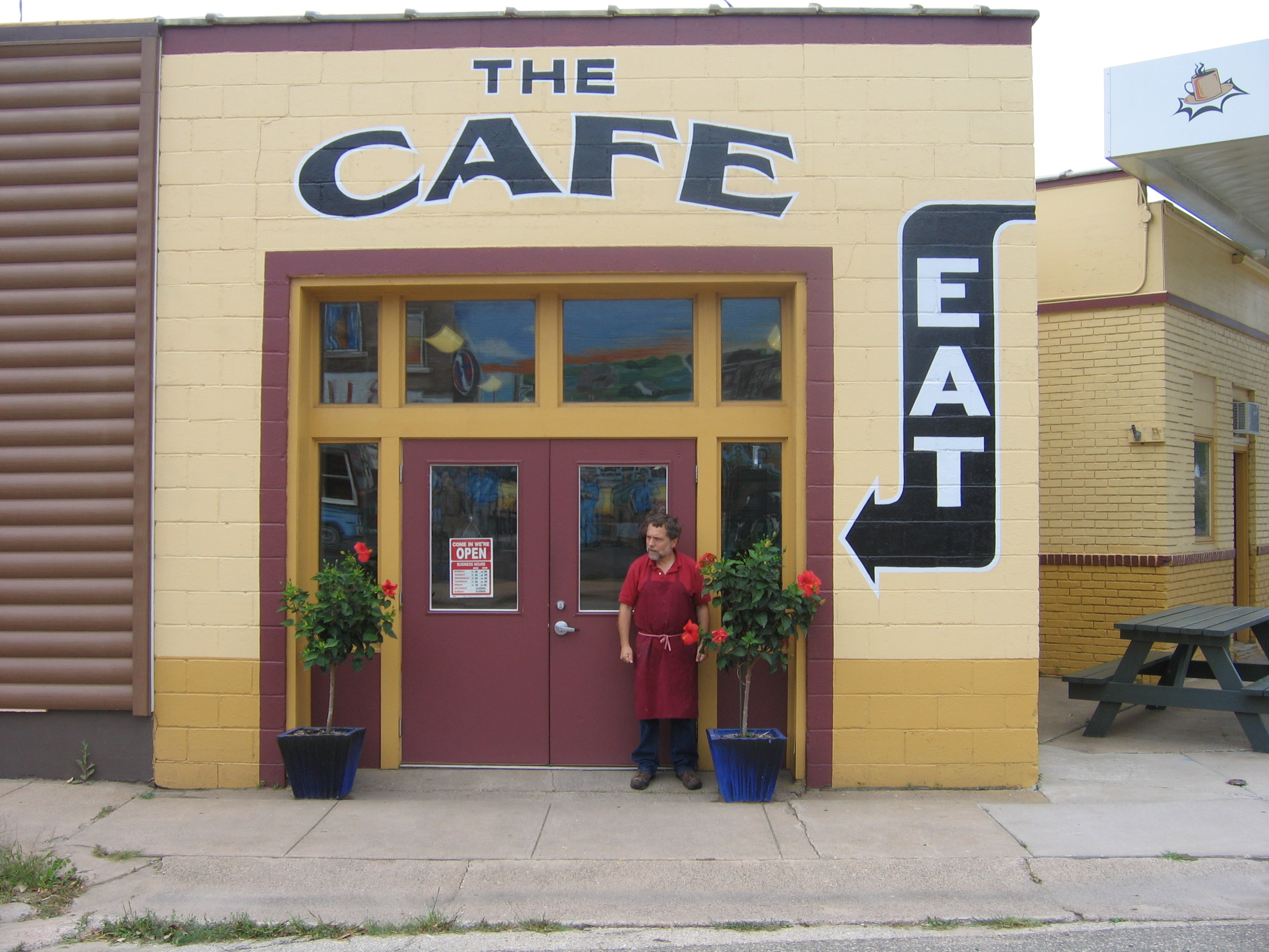 The Cafe across the street